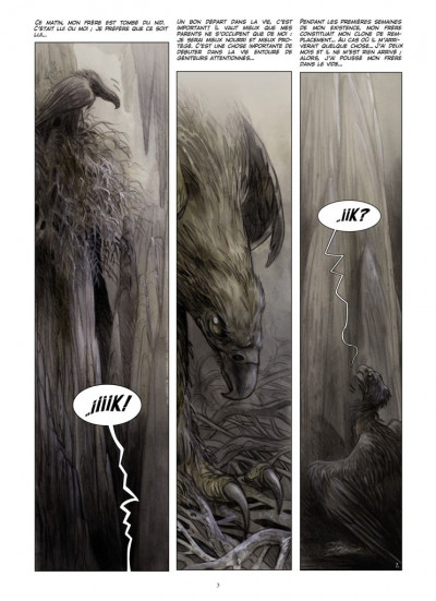 Page 1 Kraa tome 1 - la vallée perdue