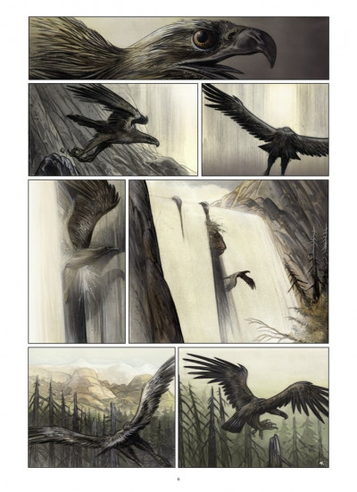 Page 4 Kraa tome 1 - la vallée perdue