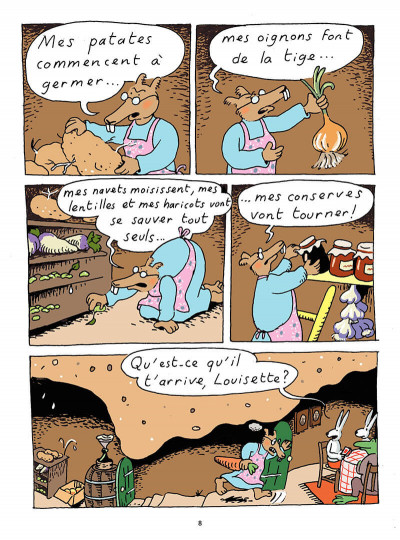 Page 5 Louisette la taupe tome 6 - tri... patouillage