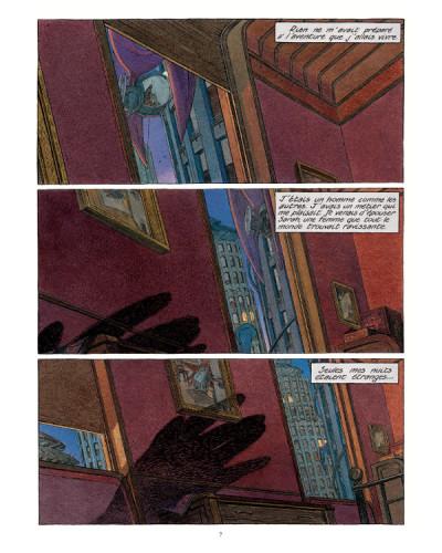 Page 1 Les cités obscures tome 7 - l'ombre d'un homme