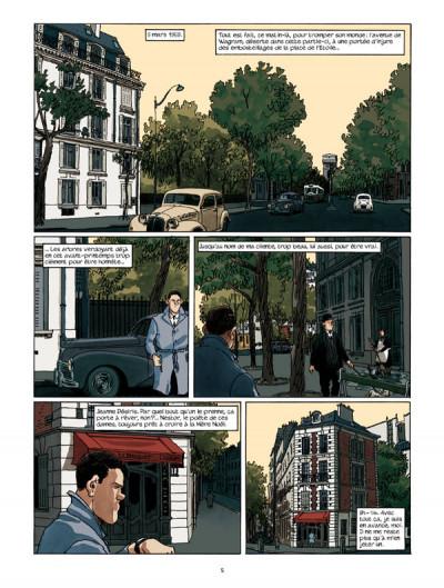 Page 1 Nestor burma - l'envahissant cadavre de la plaine monceau