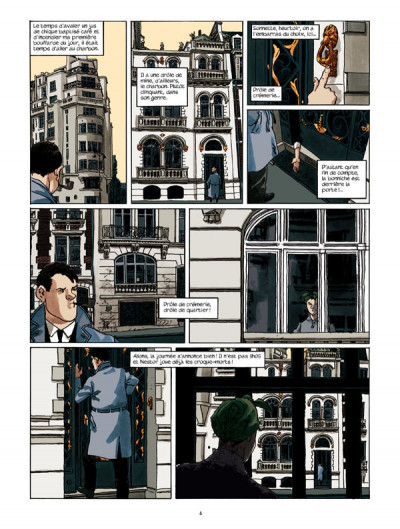 Page 2 Nestor burma - l'envahissant cadavre de la plaine monceau