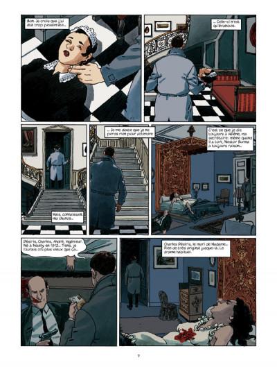 Page 3 Nestor burma - l'envahissant cadavre de la plaine monceau