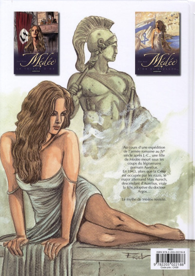 Dos medee tome 2 - l'or de byzance