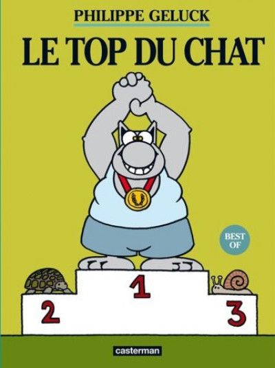 Couverture Le chat - best of - le top du chat