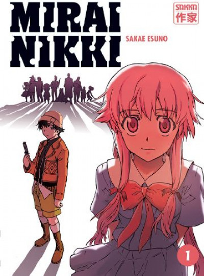 Couverture Mirai nikki tome 1 (broché)