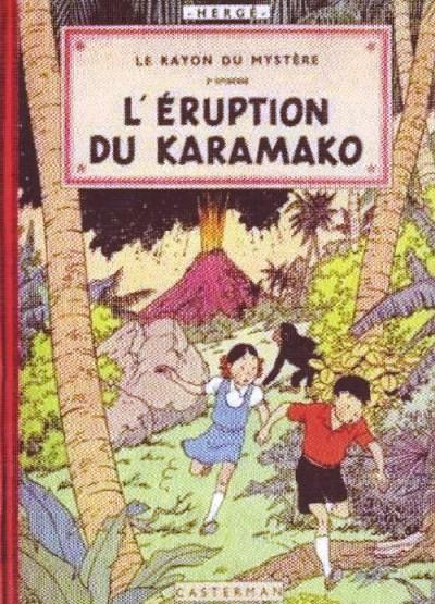 image de Jo, zette et jocko tome 2 - facsimilé - l'éruption du karamako