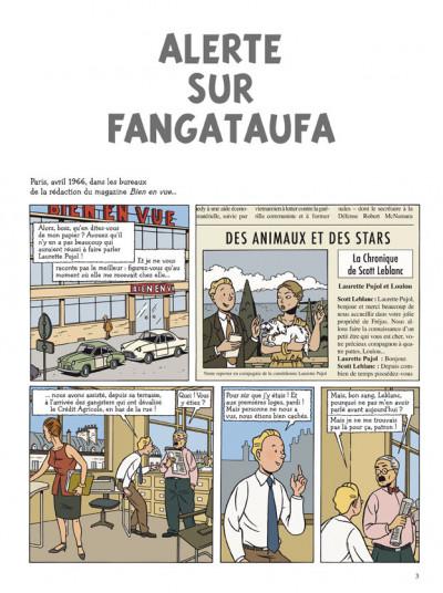 Page 1 Les aventures de scott leblanc tome 1 - alerte sur fangataufa