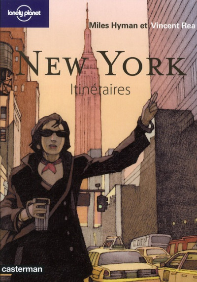 Couverture Itinéraires - new york