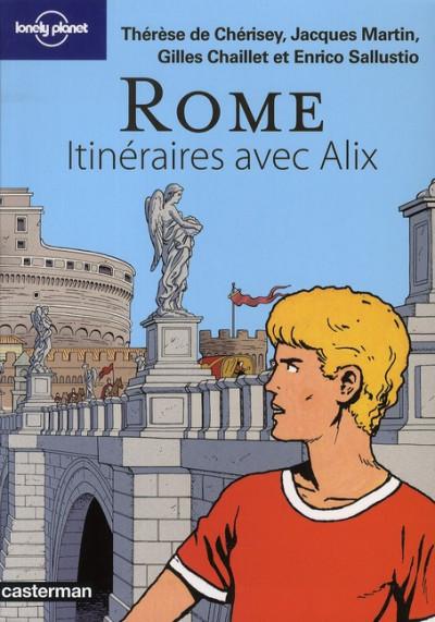 Couverture Itinéraires avec Alix - Rome