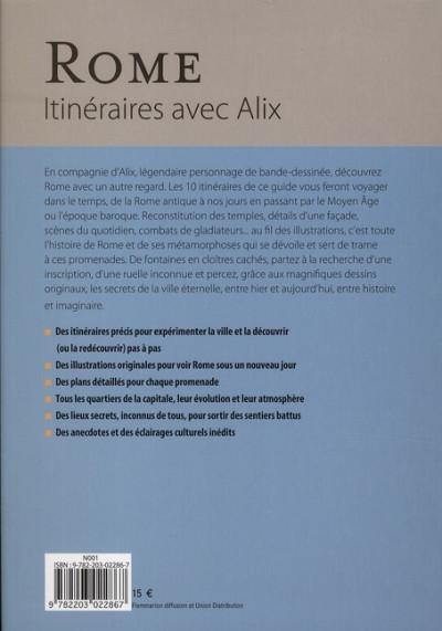 Dos Itinéraires avec Alix - Rome