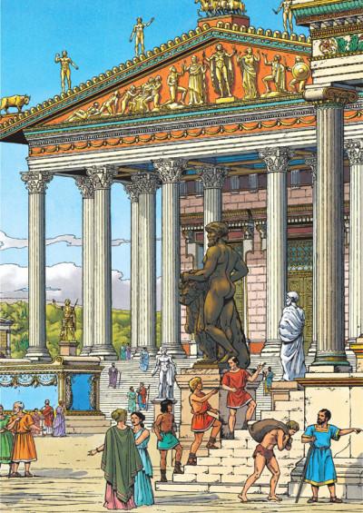 Page 1 Itinéraires avec Alix - Rome