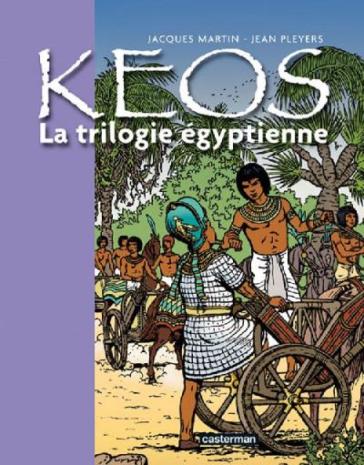 Couverture Kéos - INTEGRALE T.1 A T.3 - la trilogie égyptienne