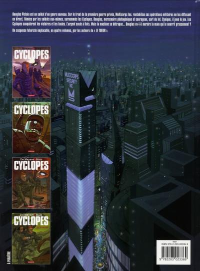 Dos Cyclopes tome 3 - le rebelle