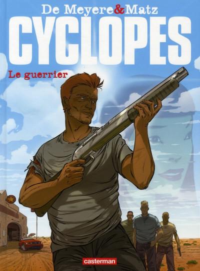 Couverture Cyclopes tome 4 - le guerrier
