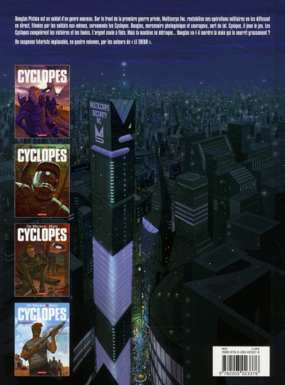 Dos Cyclopes tome 4 - le guerrier