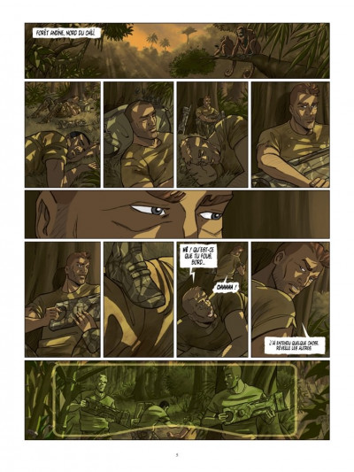 Page 3 Cyclopes tome 4 - le guerrier