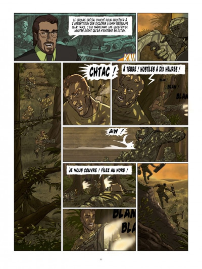 Page 4 Cyclopes tome 4 - le guerrier