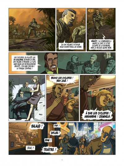 Page 5 Cyclopes tome 4 - le guerrier