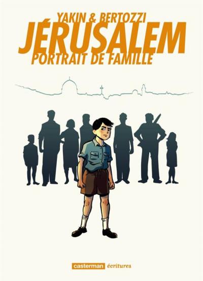 Couverture Jérusalem - portrait de famille