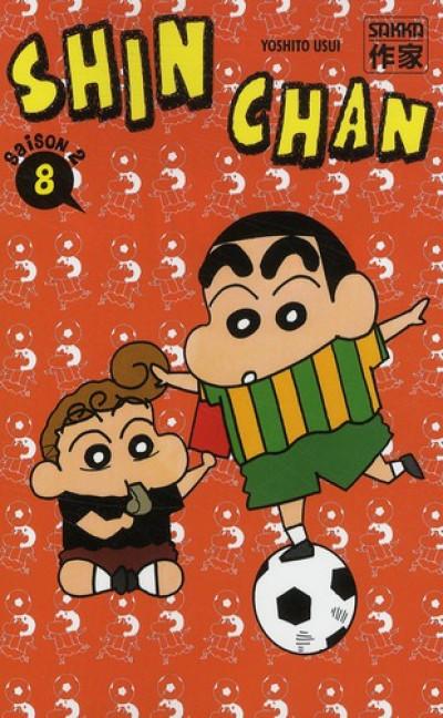 Couverture Shin chan, saison 2 tome 8