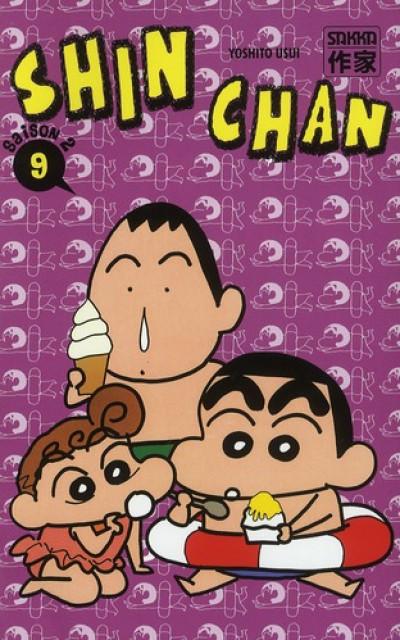 Couverture Shin chan, saison 2 tome 9