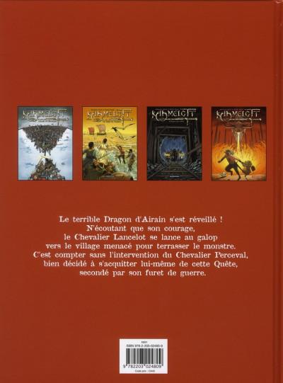 Dos Kaamelott tome 4 - perceval et le dragon d'airain