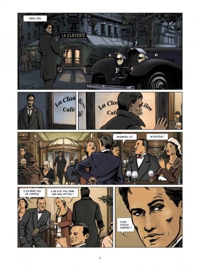 Page 1 les aventures de Boro, reporter photographe ; intégrale ; la dame de Berlin
