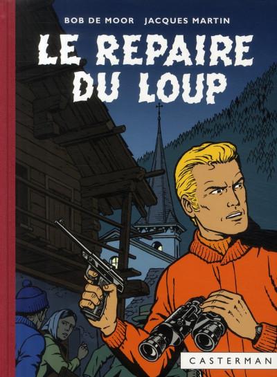 image de Lefranc tome 4 - le repaire du loup (fac-similé 1974)