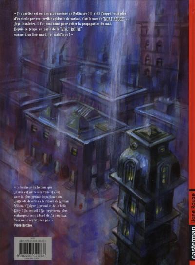 Dos Histoires extraordinaires d'Edgar Poe tome 3 - la mort rouge