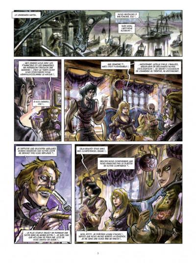 Page 3 Histoires extraordinaires d'Edgar Poe tome 3 - la mort rouge