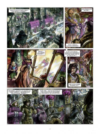Page 5 Histoires extraordinaires d'Edgar Poe tome 3 - la mort rouge