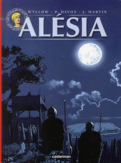Couverture Les voyages d'Alix - Alesia