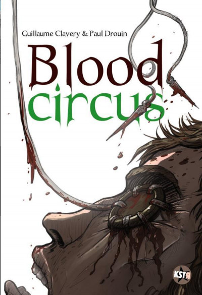 Couverture blood circus