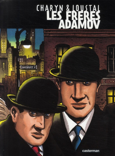 Couverture Les frères adamov (édition 2009)