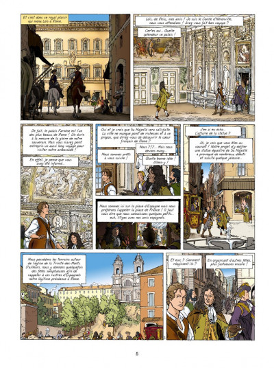 Page 3 Les aventures de Loïs tome 5 - l'Apollon de sang