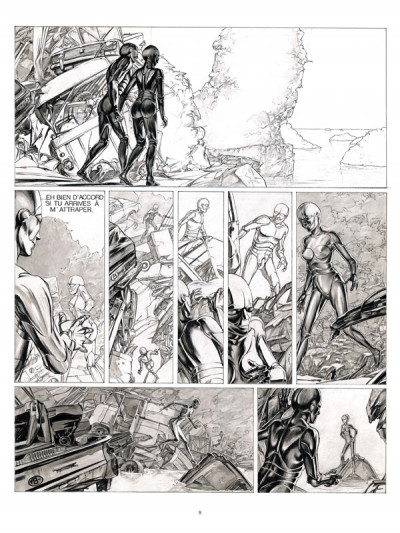 Page 4 Les terres creuses tome 1 - carapaces