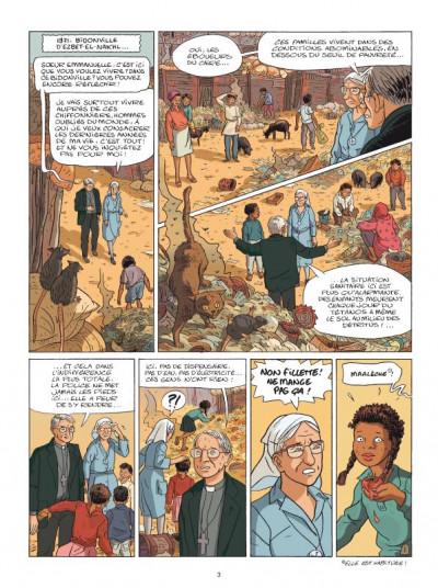 Page 1 Yalla ! la vie de soeur emmanuelle en bd
