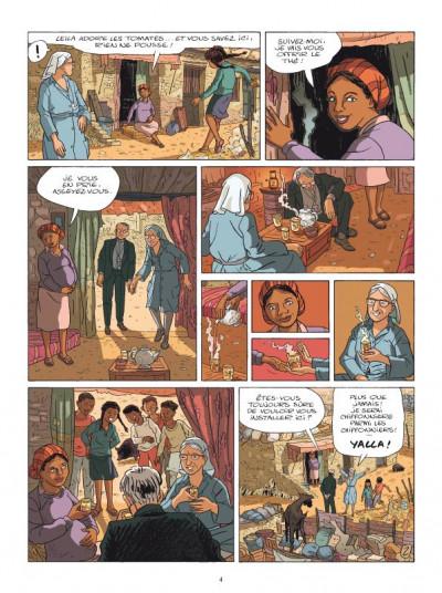 Page 2 Yalla ! la vie de soeur emmanuelle en bd