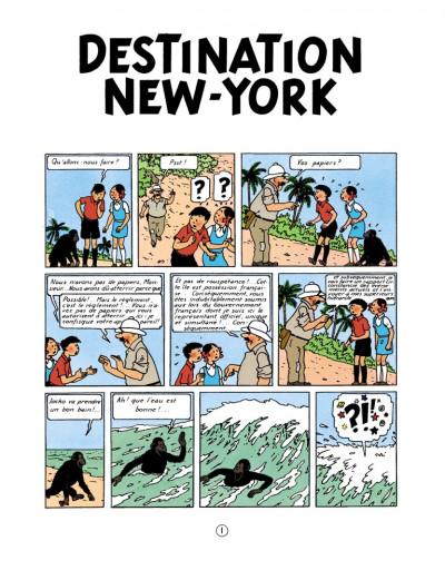 Page 1 Jo, zette et jocko tome 4 - destination new york