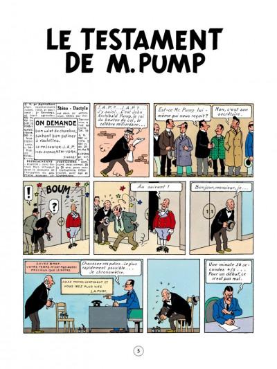 Page 1 Jo, zette et jocko tome 3 - le testament de m. pump