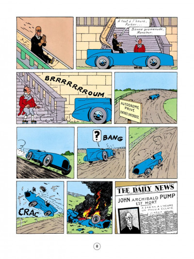 Page 4 Jo, zette et jocko tome 3 - le testament de m. pump