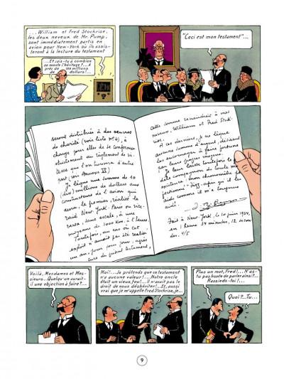 Page 5 Jo, zette et jocko tome 3 - le testament de m. pump