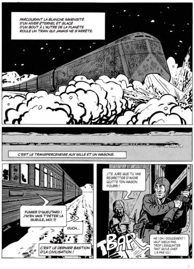 Page 1 le transperceneige - intégrale
