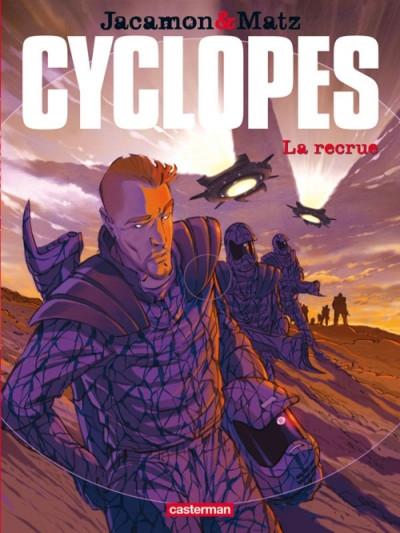 Couverture Cyclopes tome 1 - la recrue