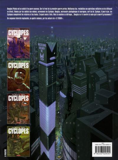 Dos Cyclopes tome 1 - la recrue