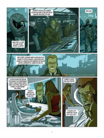 Page 4 Cyclopes tome 1 - la recrue