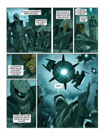 Page 5 Cyclopes tome 1 - la recrue
