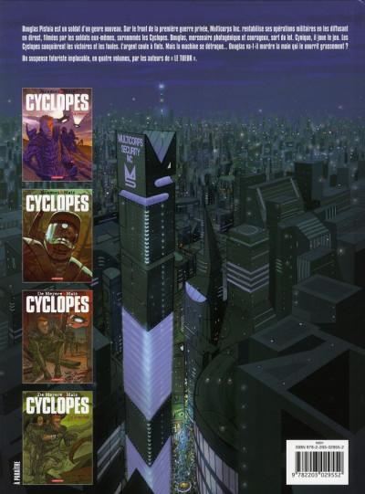 Dos Cyclopes tome 2 - le héros