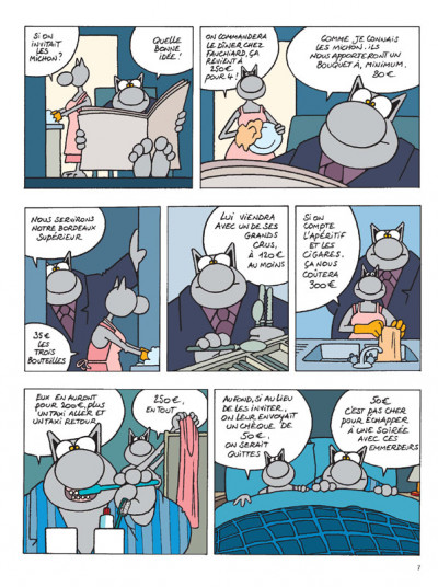 Page 5 Mini chat tome 12 - et vous, chat va ?
